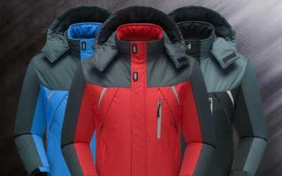 【热卖案例】新款冬季冲锋衣,加绒加厚,防水透气